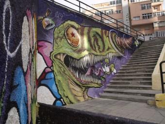 Arte urbano Gran Canaria digerible