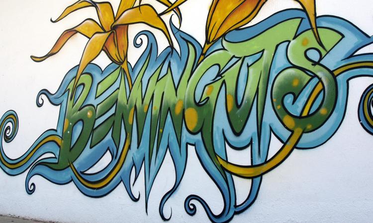 Arte urbano en la Parroquia Digerible