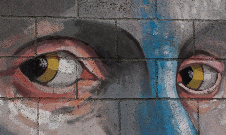 Arte urbano Guim Tió digerible