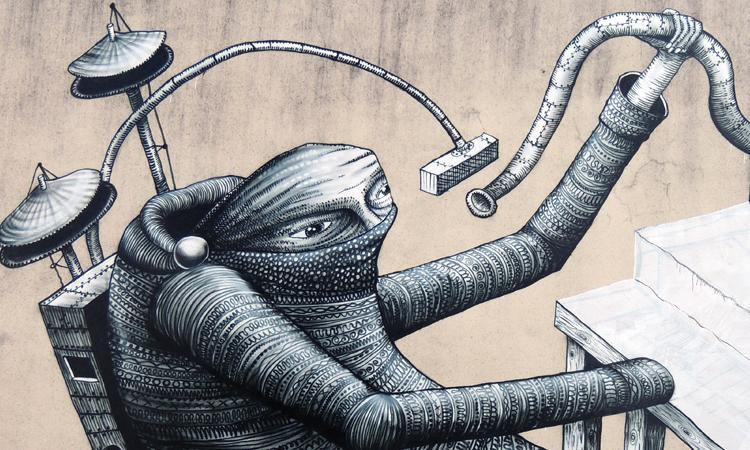 Phlegm Arte Urbano Digerible