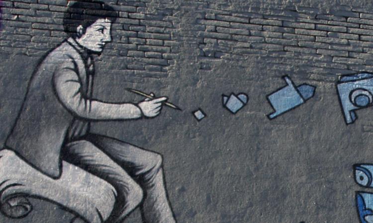 SM172 Arte urbano Barcelona digerible