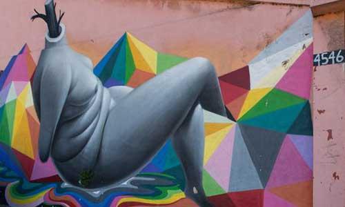 arte urbano Okuda Chile digerible