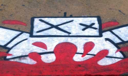 El Gordo Arte urbano, Barcelona, digerible