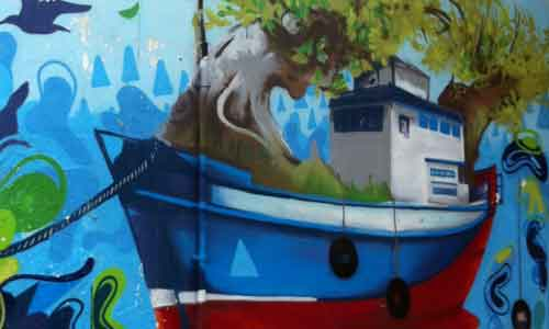bombingya Arte urbano Galicia digerible