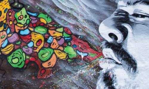 arte urbano Chile digerible