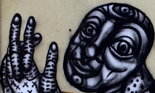 S. Waknine arte urbano Barcelona digerible