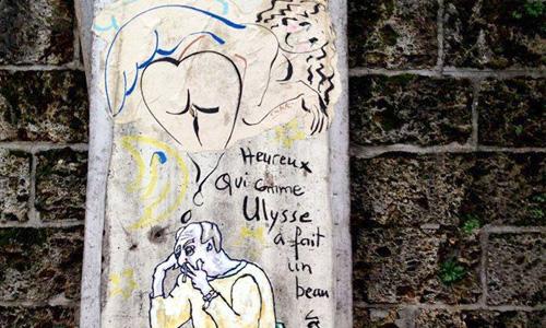Artista Urbano 171, Catherine Cisinski, París - digerible