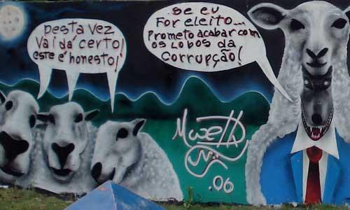 Arte urbano, Boa Vista - Brasil, digerible