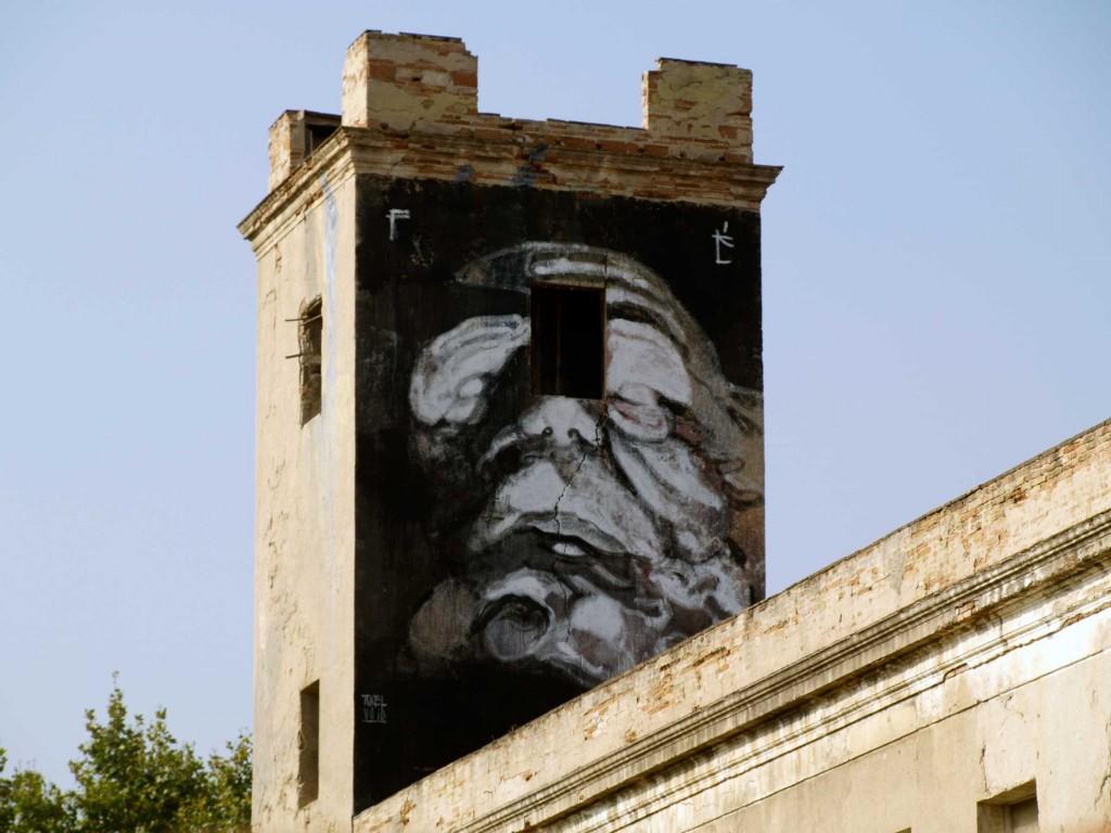 Axel Void, arte urbano, digerible, Barcelona