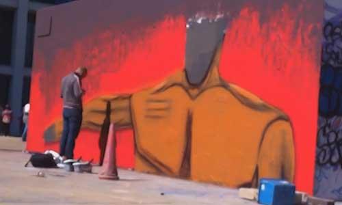 João Guilherme (Jonca) arte urbano, Digerible
