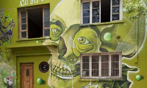 Piguan - Cosast, arte urbano Chile, digerible