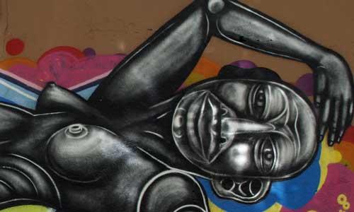 Sebastien Waknine, arte urbano Barcelona, Digerible