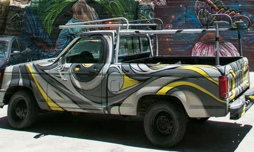 Zio Ziegler arte urbano, USA , digerible