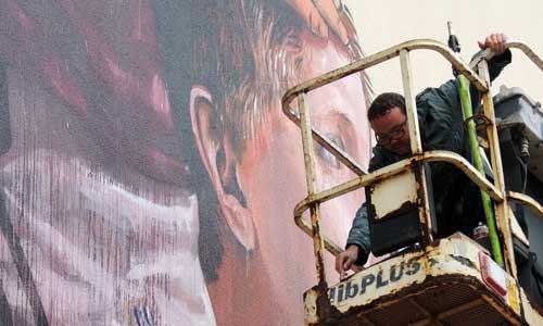 Fintan Magee, arte urbano, Nueva Zelanda, digerible