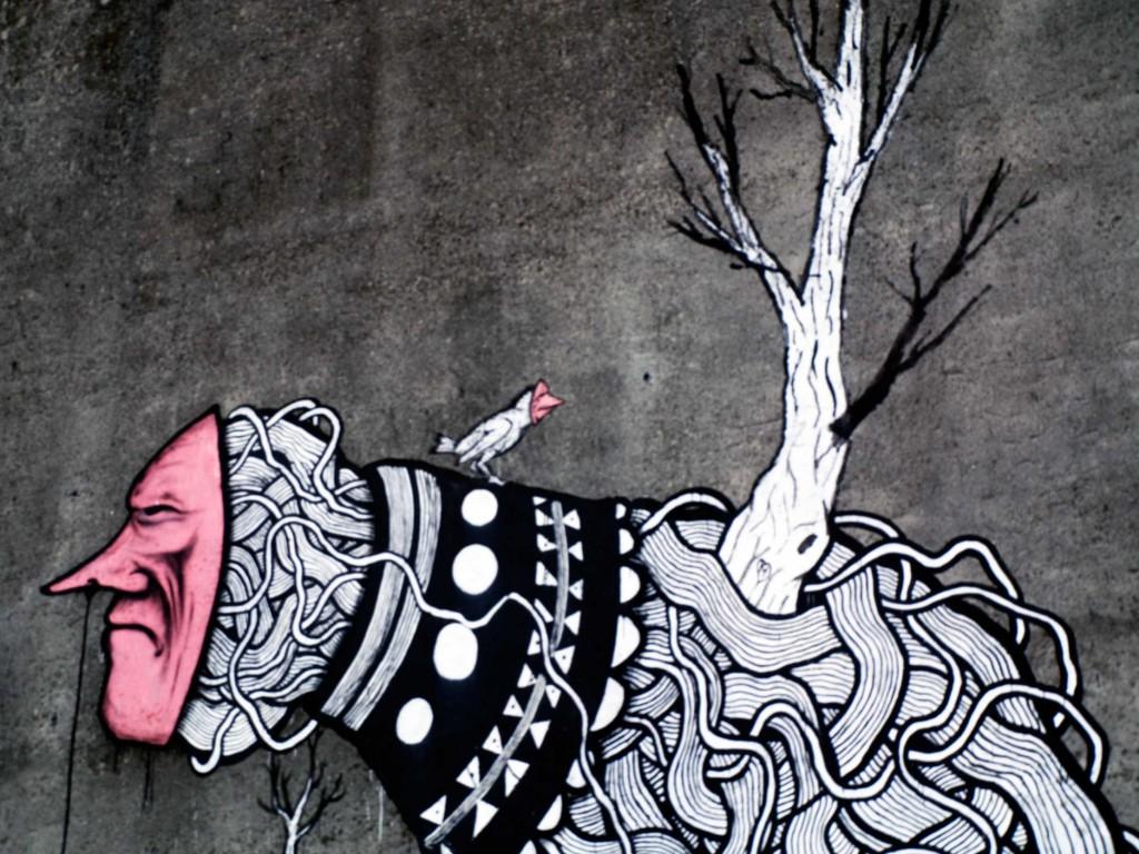 Peri Helio, arte urbano, España, digerible
