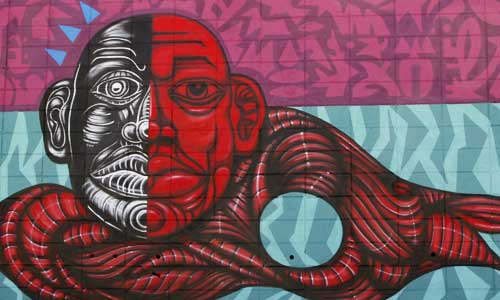 Sebastien Waknine, arte urbano, digerible
