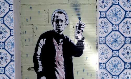 arte urbano Barcelona, Mateo, Digerible
