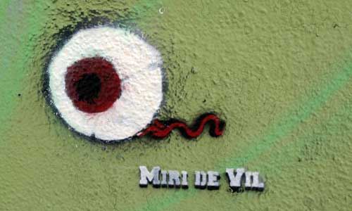 Miri de Vil, arte urbano Barcelona, Digerible