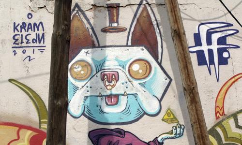 Fatal Fake, Arte urbano, Mataró, digerible