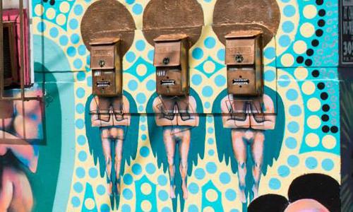 Arte urbano, Miami, digerible