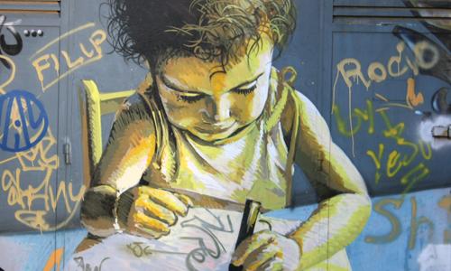 Arte urbano Sevilla, España, digerible