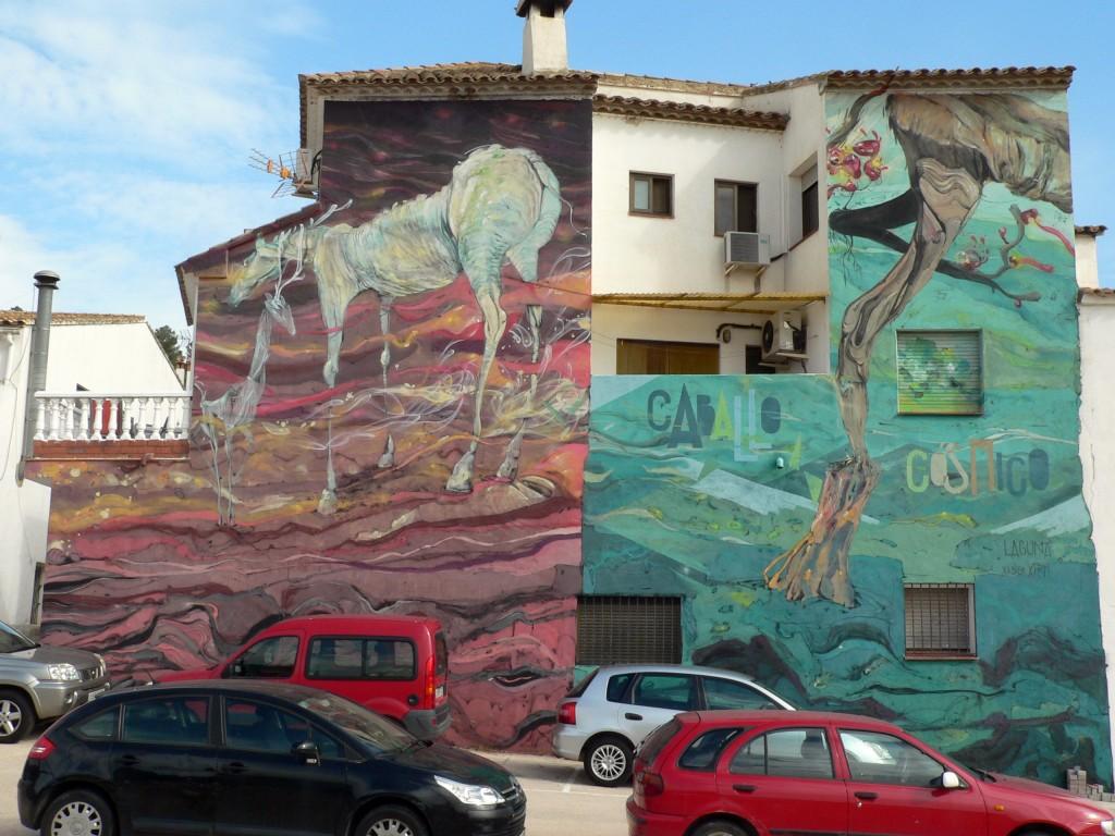 arte urbano Fanzara, Valencia, Digerible