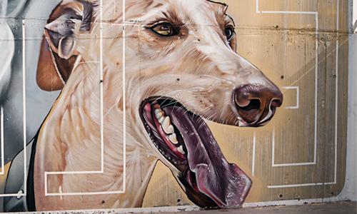 Sabotaje al Montaje arte urbano en Gran Canaria