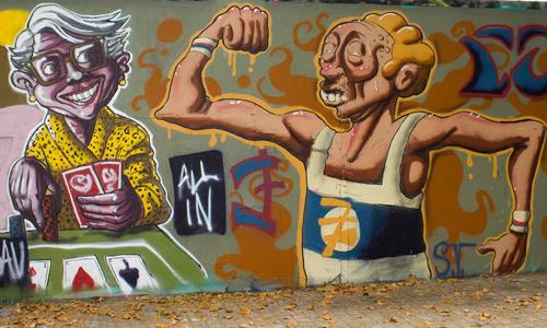 Simón Vázquez Arte urbano Barcelona, digerible Simón Vázquez Arte urbano Barcelona, digerible