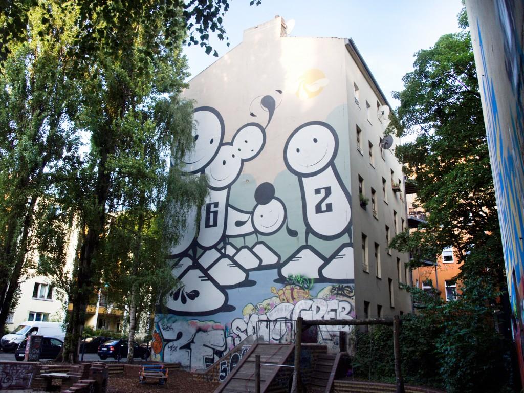 The London Police, arte urbano en Berlín
