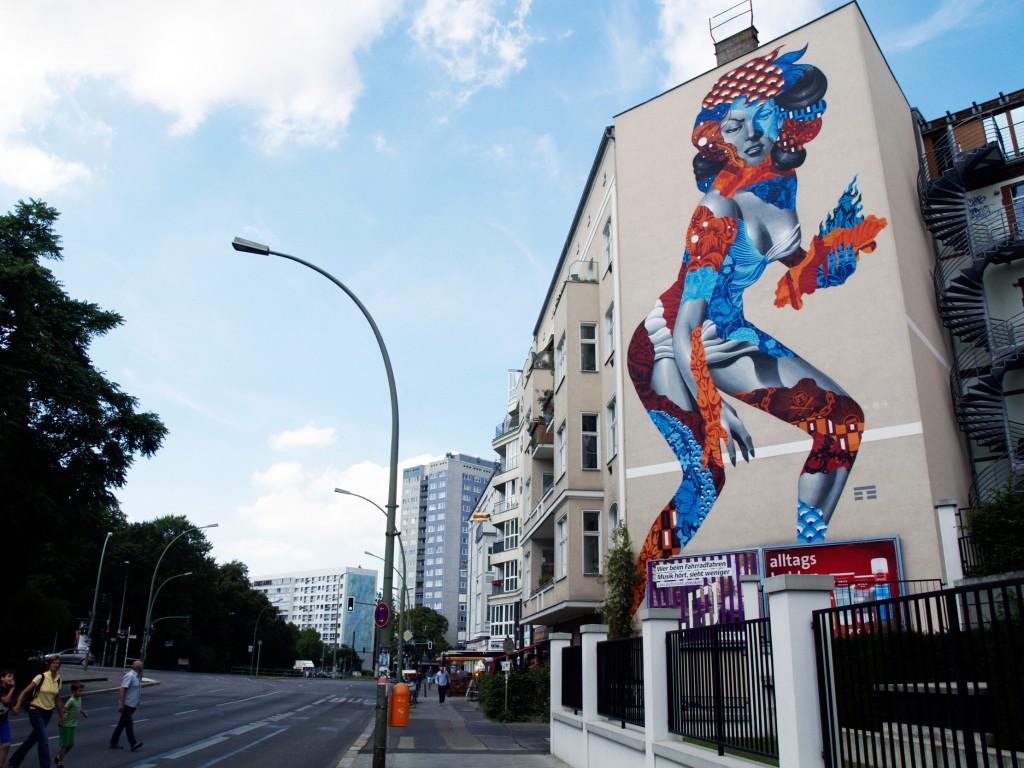 Tristan Eaton, arte urbano en Berlín