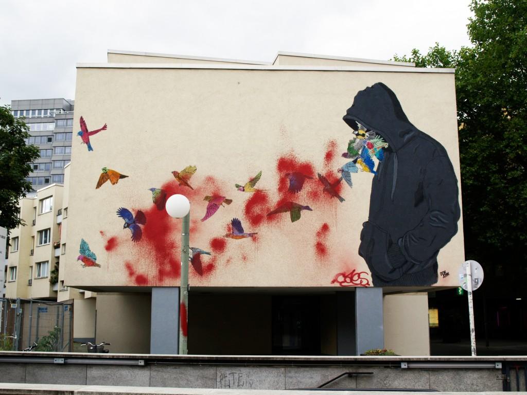 Don John, arte urbano en Berlín