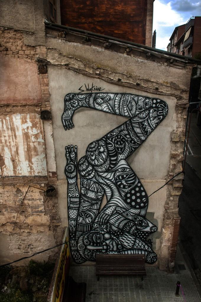 Sebastien Waknine, arte urbano Manresa