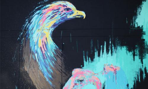 Txemy, arte urbano en Barcelona