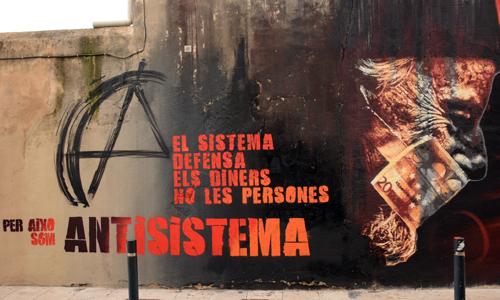 Roc Blackblock Arte urbano en Barcelona