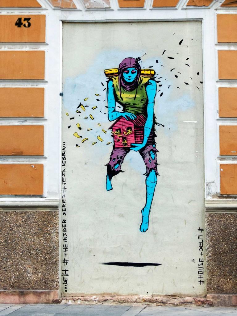 Deih, arte urbano Torrevieja, Valencia,