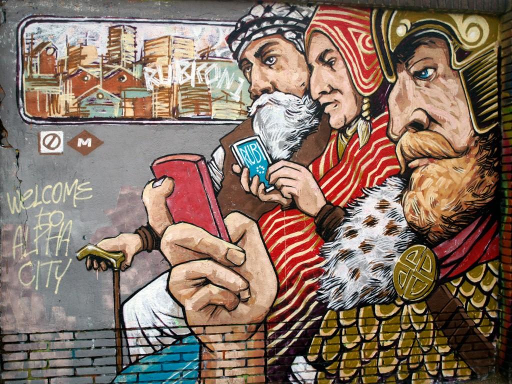Rubicon1 arte urbano en Barcelona