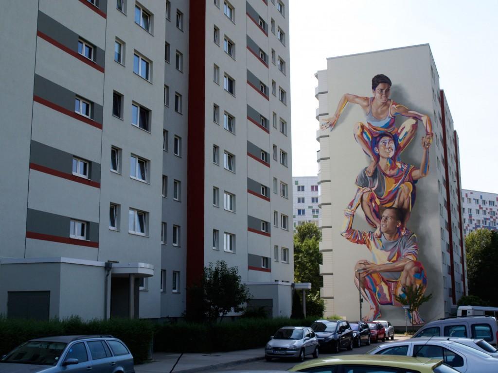 James Bullough Addison Karl arte urbano Berlín