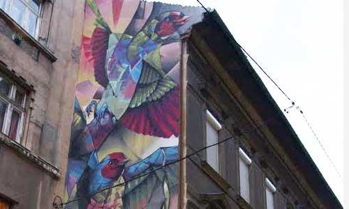BreakOne arte urbano en Hungría