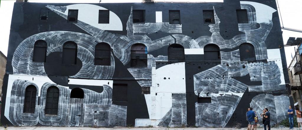 2501 arte urbano en Barcelona