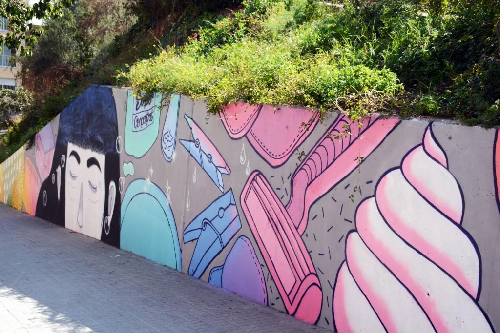 Aisa arte urbano en Barcelona