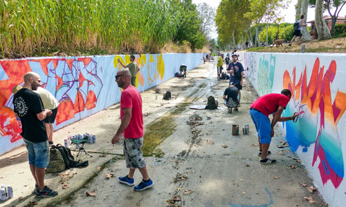 Arte urbano en Parets del Vallès