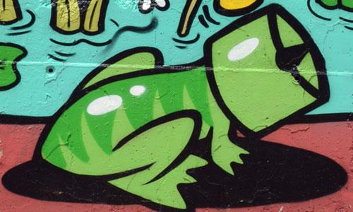 Tornillo Scriu arte urbano en el Masnou