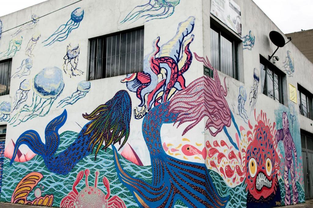 arte urbano en Bogotá, Colombia