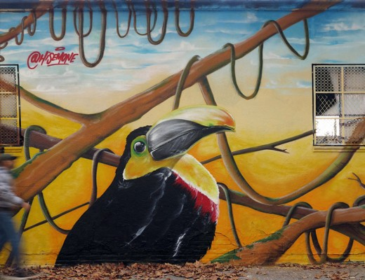 Dery1 Mac , Sem1 y Hisemone arte urbano en Barcelona