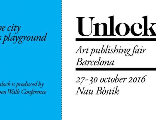 unlock Feria editorial sobre el graffiti y arte urbano en Barcelona