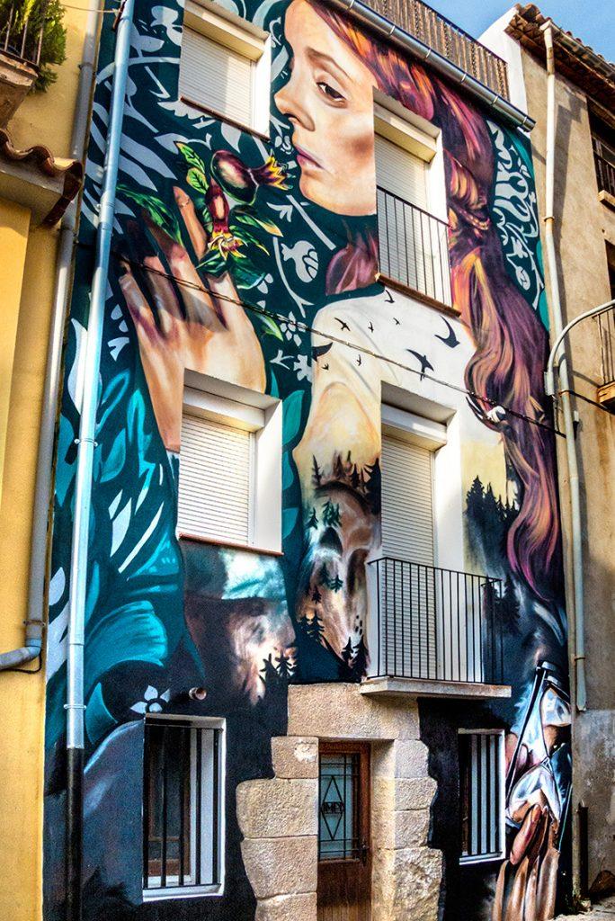 Lily Brik arte urbano en Lleida