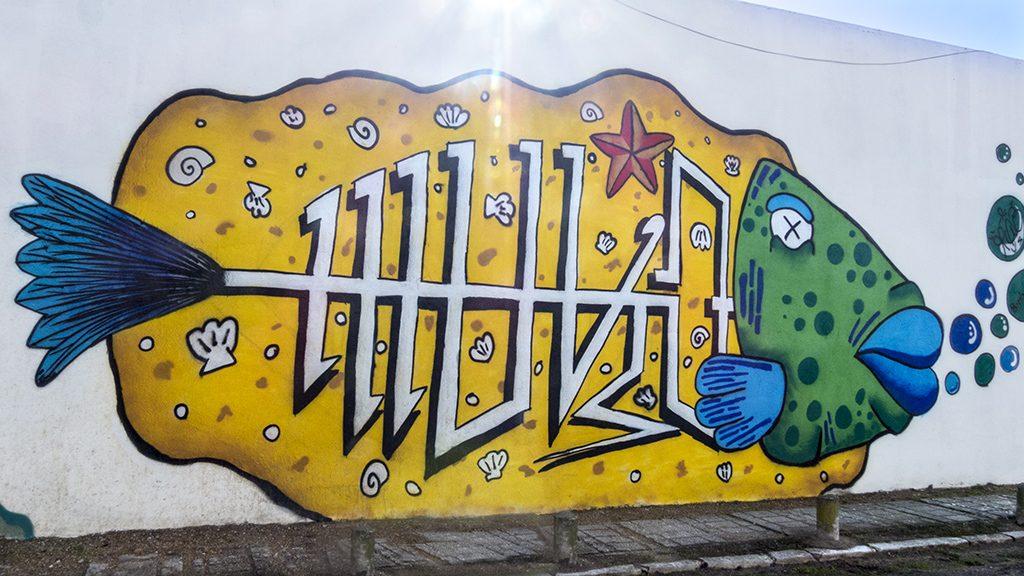 Arte urbano en Almada, Portugal
