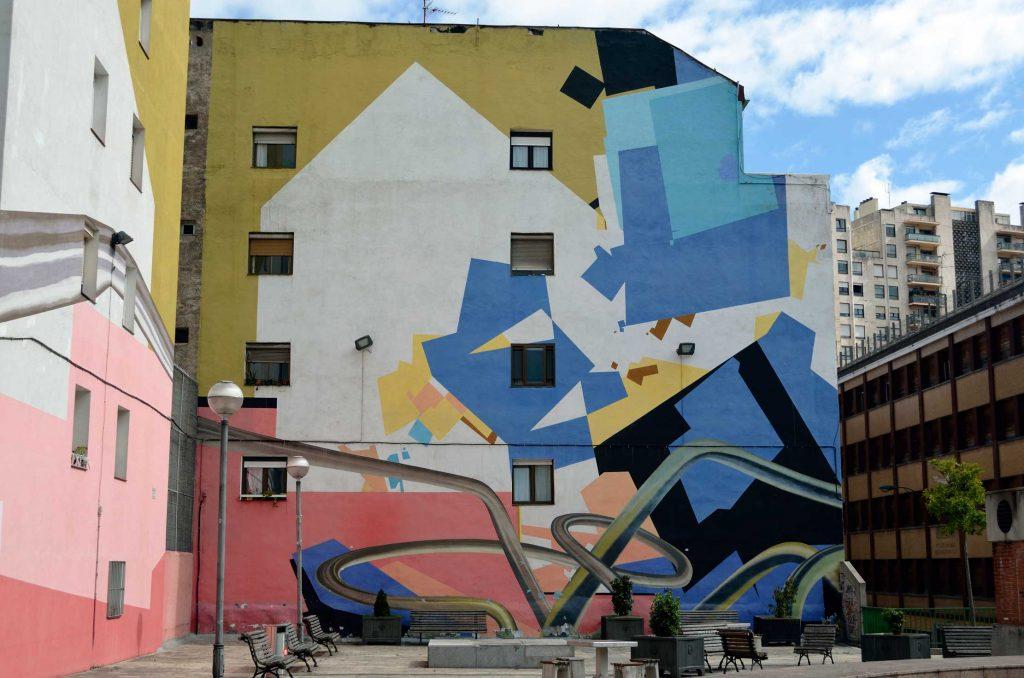 Arte Urbano Bilbao DK muralismo