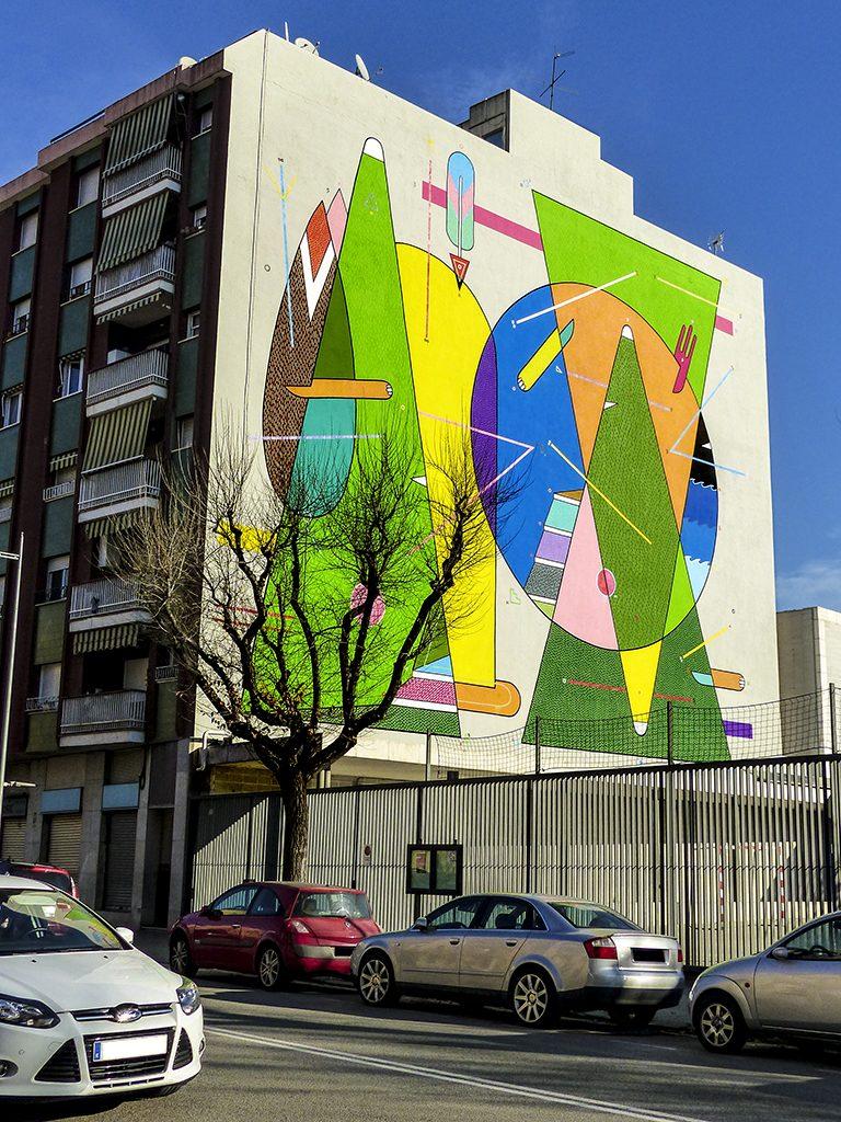 Arte urbano de Sixe Paredes