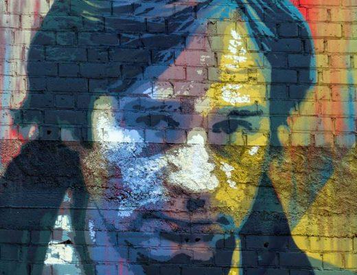 Roc Blackblock arte urbano Barcelona